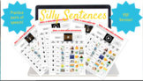Parts of Speech Roll a Silly Sentence Independent Activity (PDF Version)