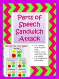 Parts of Speech Sandwich Attack Game
