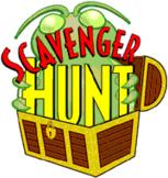 Parts of Speech Scavenger Hunt