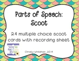 Parts of Speech Scoot: 6 Basic Parts of Speech