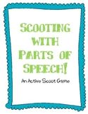 "Parts of Speech ""Scoot"" Game"