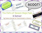 Parts of Speech Scoot Game Mega Pack