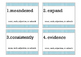 Parts of Speech Scoot: noun, verb, adjective, adverb