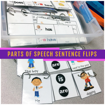 Parts of Speech Sentence Flips