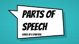 Parts of Speech (Series of 5 Starters)