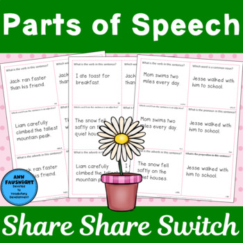 Parts of Speech Share, Share, Switch