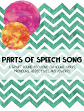 Parts of Speech Song