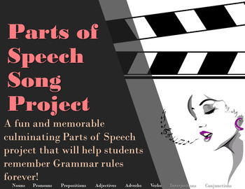 Parts of Speech Song Project