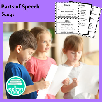 Parts of Speech Songs