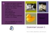 Parts of Speech Songs- Grammar Lesson 1