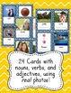 Parts of Speech Sort, Graph and Scoot with Adjectives, Nou