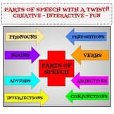 Parts of Speech Sort and More!