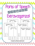 Parts of Speech Sorting Extravaganza