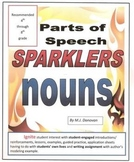 Parts of Speech Sparklers (nouns)