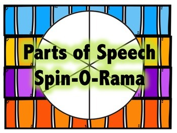 Parts of Speech - Spin-O-Rama