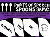 Parts of Speech Spoons Game - Review Game