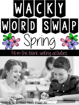 Parts of Speech Spring Activity