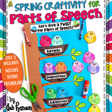 Parts of Speech Craftivity for Spring