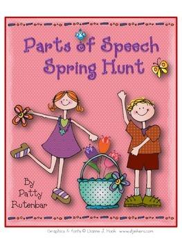 Parts of Speech Spring Hunt
