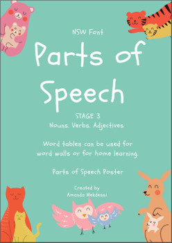 Parts of Speech- Stage 3