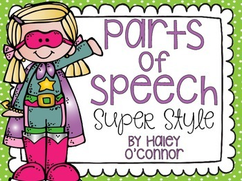 Super Parts of Speech