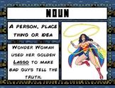 Parts of Speech Superhero Posters