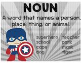 Parts of Speech - Superheroes