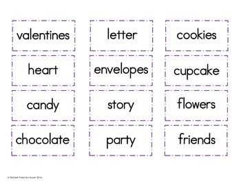 Parts of Speech: Sweet Sorts! A Sorting Activity/Center: Valentine's Edition