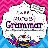 Grammar 3rd Grade - Parts of Speech Worksheets & Activities