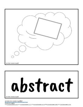 Parts of Speech Symbols & Visuals Set 1