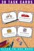 Parts of Speech Task Cards, 3rd Grade Literacy Center Games SCOOT