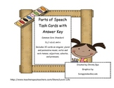 3rd Grade Common Core Parts of Speech Test Prep Task Cards (30)