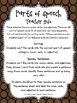 Parts of Speech - Thanksgiving Center Activities: $1 Deal
