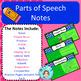 Parts of Speech Unit Bundle – Upper Elementary – No Prep, Print & Go