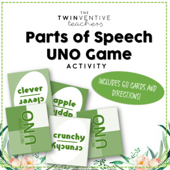 Parts of Speech Uno Game