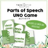 Parts of Speech Uno Game