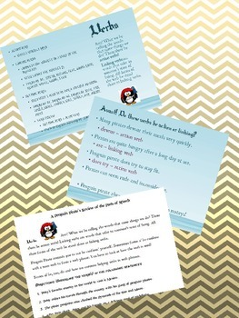 Parts of Speech: Verb - Penguin Pirate Lessons