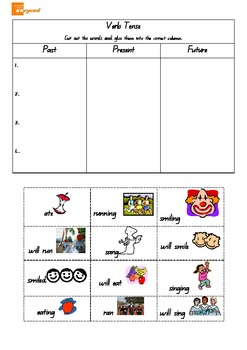 Parts of Speech - Verbs Nouns Adjectives - Reading groups Writing centres