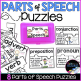 Parts of Speech Vocabulary Puzzles | Grammar Activity | Pa