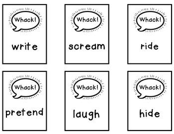 Parts of Speech Task Cards Activities