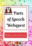 Parts of Speech Webquest
