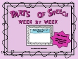 Parts of Speech Week to Week