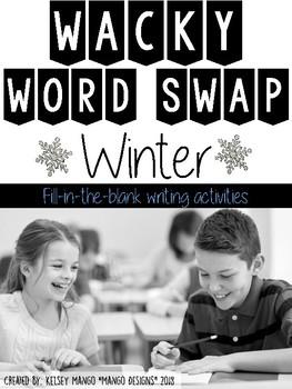 Parts of Speech Winter Activity