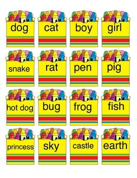 Parts of Speech Word Sort & Sentence Building Activity