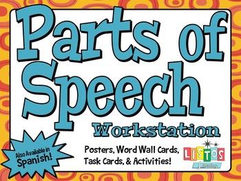 PARTS OF SPEECH Workstation