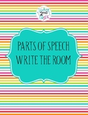Parts of Speech Write the Room