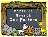 Parts of Speech Posters (Zoo Animal Theme)