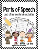 Parts of Speech and Other Sentence Activities (Common Core)