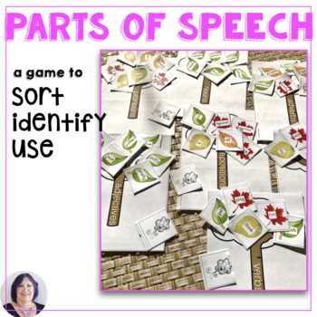 Parts of Speech for All Seasons Game and Sorting Activity