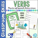 Parts of Speech Action Verbs